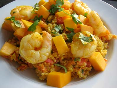 with quinoa salad with mango curried quinoa salad mango high in ...