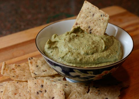 Basil Hummus – The Whole Kitchen