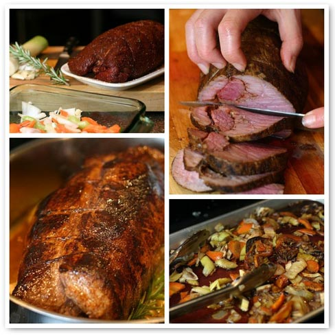 how to cook a sirloin tip roast at 500 degrees